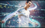 Cristiano Ronaldo 7 - Horinzontal Signature Tag by DralexArtist
