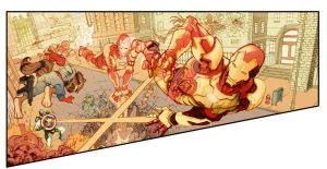 Iron-man-panel by bbrunoliveira