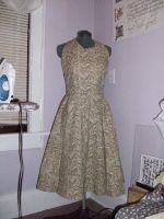 Circle Skirt Vintage Dress Pattern Sewing Project by annjepsen