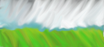 grass and clouds 00 by darktsukikat