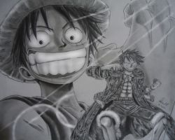 Monkey D.Luffy by PopoKarimz