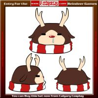 Reindeer Hat Contest by Miss-Panettone
