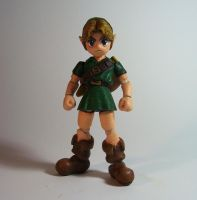 Young Link - Defenceless by Lalam24