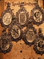 Gothic Medallion by TheLovelyBoutique