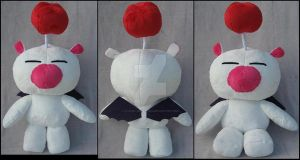 Kingdom Hearts Moogle by A-chan--Creations