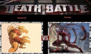 DEATH BATTLE Idea Sabretooth VS Carnage by JefimusPrime