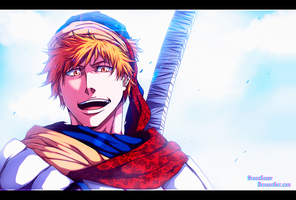 Bleach 581 - The Hero 2 by hyugasosby