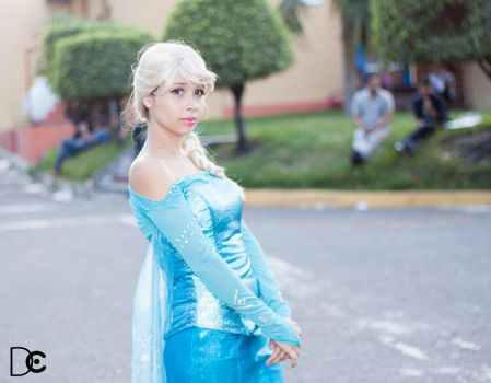 Queen Elsa by DraconPhotography