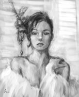 Quick portrait by Siwass