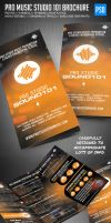 Pro Music Studio Trifold Brochure by ShermanJackson