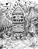Totem of the Bugbears by sweetlygrotesque