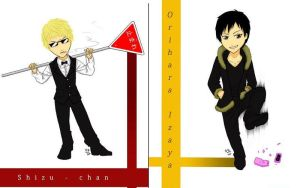 Chibis: Durarara by rain-and-sunshine