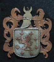 Gallacher Coat of Arms by Swashbookler