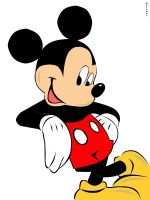 Mickey Mouse Vector by ramen-yum