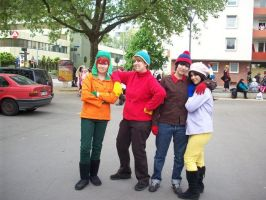 AWESOME SOUTH PARK COSPLAY 5 by Eric--Cartman