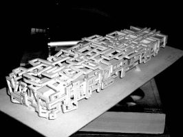 my museum scale model 2 by architect-jong