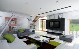 house project SAMAR interior 3 by Antioksidantas