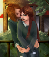Request: A Sweet Moment by SurrealMime