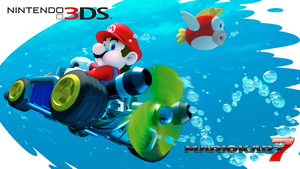 Mario Kart 7 Wallpaper by RafaelMartins