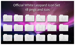 -Official White Leo Icons- by Hemingway81
