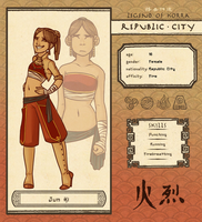 Republic City App - Jun Ki by Infected-Ellis
