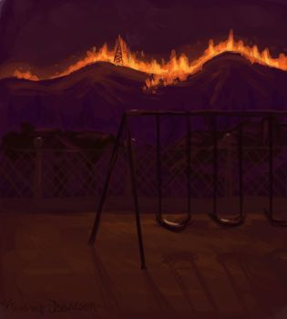 Wildfires by Auddi