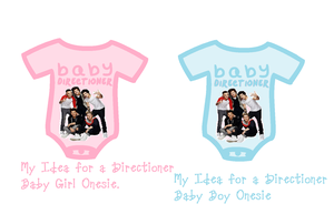 Baby Girl and Boy Directioner Onesie by iluvlouis