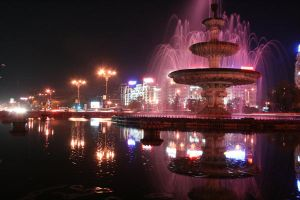 The fountain from Unirii by MoxMonica