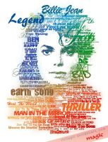 MJ Typographic by llvllagic
