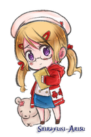 Nyotalia Canada coloring by Shirayuki-Arisu