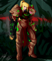 PW: Samus by PeterPrime
