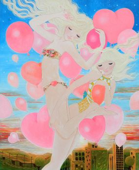 Ballons by cathydelanssay