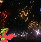 Me at the fireworks display XD by JamTheFox