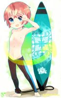 Surfin' Surfin' Shota by Symphonic-Hime