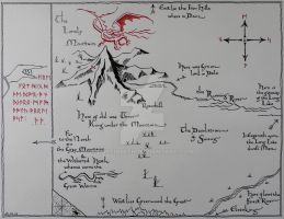 Hobbit's Map by Cassiopeeh