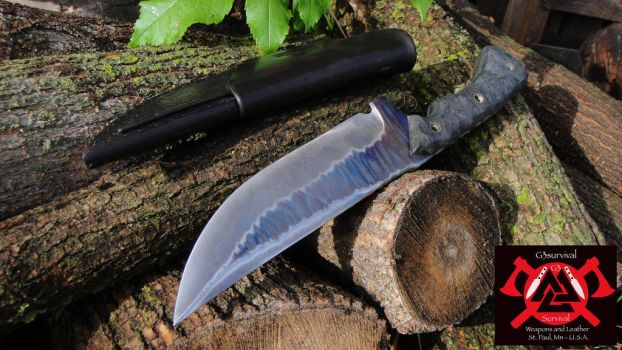 G3survival Long Tooth Knife by G3survival