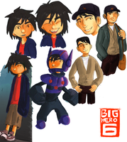 bh6 doodles by X3carlyX3