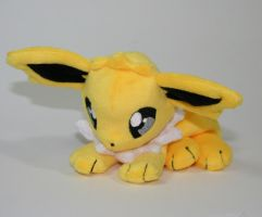 Jolteon Beanie by Yukamina-Plushies