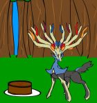 Hail, Trainer. I brought you cake. :Bday: by Kaity-Chameleon
