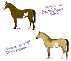 Designs for ShiningSparkRanch by KaiAurora