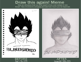 Before and After: Blindsided by KimiruMai