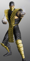 Mortal Kombat 9 mk2 scorpion by GEOcw89
