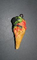 Food series: Icecream frog by Anne-domi