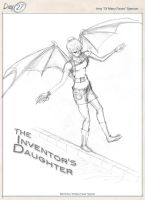The Inventor's Daughter by cephaloneiric
