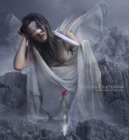 The White Moth by Ioneek