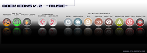Dock Icons V.2 Musicproducing by zigshot82