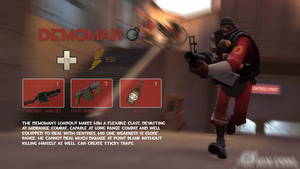 TF2 - Demoman introduction by Mustkunstn1k