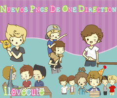 Nuevas Caricaturas De One Direction by IloveCute1220