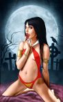 Vampirella loves blood by Blissternal