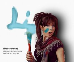 Lindsey Stirling by Ehmnesia
